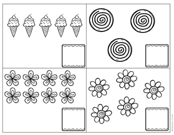 Counting Objects - Task Cards