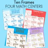 Subitizing Critical Thinking in Math  FOUR MATH CENTERS