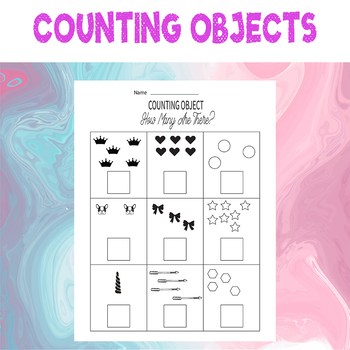 Counting Objects to 10 Worksheets Math For Kids Counting Objects 1-10