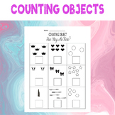 Counting Objects to 10 Worksheets Math For Kids Counting O