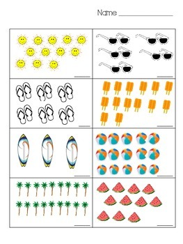 Counting Objects To 20 Kindergarten Worksheets