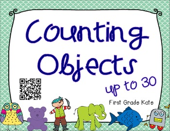 Counting Objects QR Code Task Cards