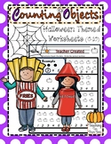 Counting Objects with a Halloween Theme (0-10)