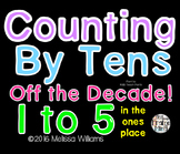 Counting Off the Decade (1-5 in the tens place) Video