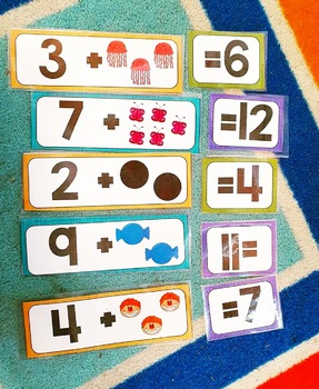 Counting On Number Matching Game