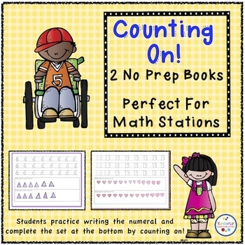 Counting On - Two Workbooks