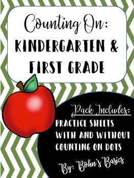 Counting On: Adding in Kindergarten and 1st Grade