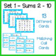 2  Differentiated Counting On Addition Bingo Games - Sums to 20