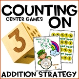 Counting On Addition Activities for March St. Patrick's Day
