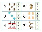 Counting On Addition Clip-it