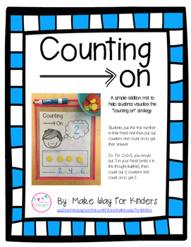 Counting On Addition Mat