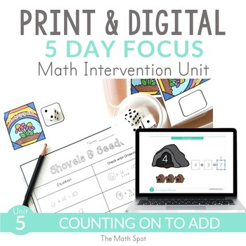 Counting On Addition Intervention Unit
