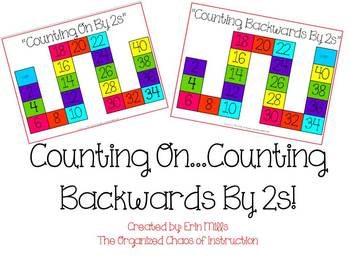 Counting On & Backwards By 2s!