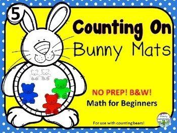 Teddy Bear Counters Activity Pre-K, Kindergarten