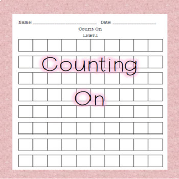 Counting On - Blank