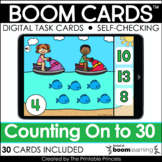 Counting On Boom Cards™ for Distance Learning {Numbers to 30}
