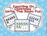 Counting On Christmas Write the Room Fun-Aligned For You!