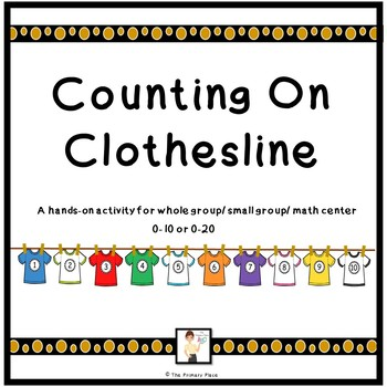 Counting On Clothesline Math Activity