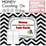 Counting On Coin Task Cards