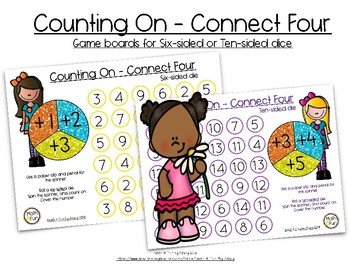 Counting On - Connect Four Games