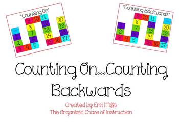 Counting On & Counting Backwards-Student Activity Mat
