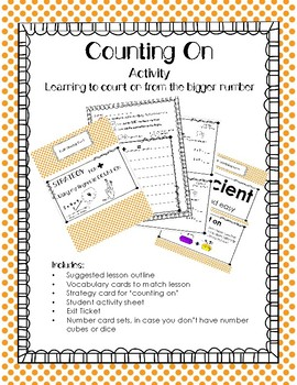 Counting On Efficiently: Lesson/Activity