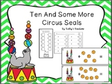 Counting On From 10 Circus Seal Addition