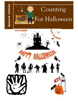 Counting On Halloween Book Vocabulary Book