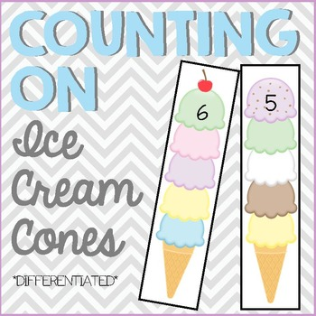 Counting On - Ice Cream Cones
