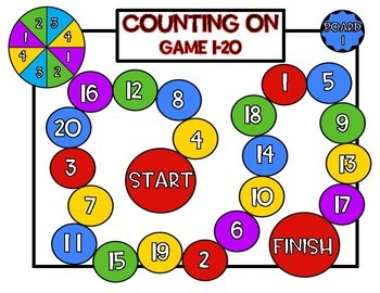 Counting On!! Kindergarten CCSS Math Game-Differentiated!!