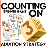 Counting On Addition Center Spinner Games