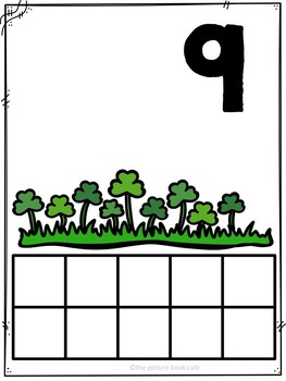 Counting 1-10 Math Station Activities  (St. Patrick's Day themed)