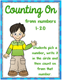 Counting On ~ Numbers 1-20