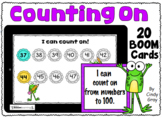 Counting On ~ Numbers to 100 ~ BOOM Cards ~ Distance Learning