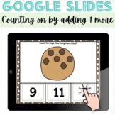 Counting On One More GOOGLE Slides distance learning math game