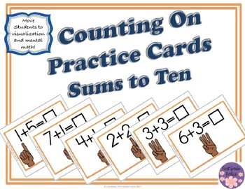Counting On Practice Cards