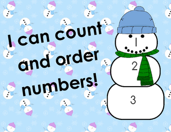 Counting On...Snowman Style