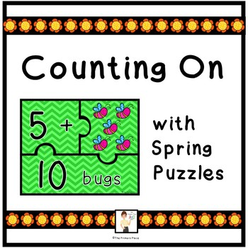 Counting On Strategy with Spring Puzzles