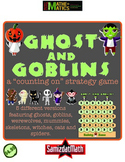 Counting On Subtraction Game: Ghosts & Goblins & More!