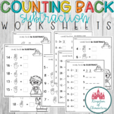 Counting On Subtraction Worksheets