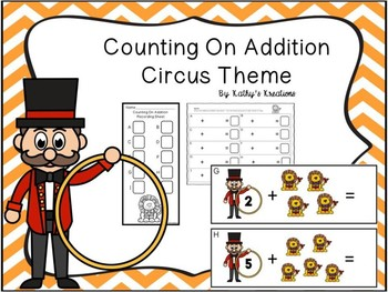 Counting On Sums To 10 Circus Theme