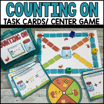 Counting On Task Cards