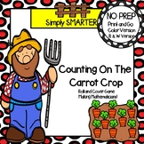 NO PREP Farm Themed Counting On By Two Roll and Cover Game