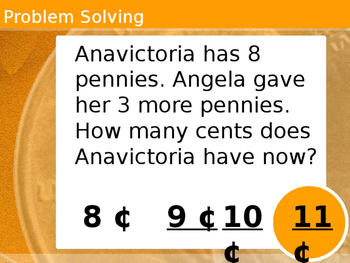 Counting On Using Pennies Powerpoint