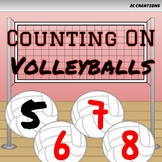 Counting On Volleyballs