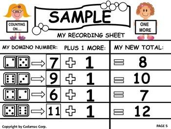 Kindergarten and First Grade Math Mats: Hands-On Fun All Year