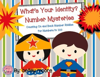 Addition and Subtraction and Place Value Number Mysteries to 120
