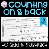 Counting On and Back to Add and Subtract