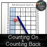 Counting On and Counting Back Printables,EDITABLE;CCLS; K