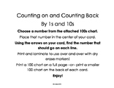 Counting On and Counting Back by 1s and 10s